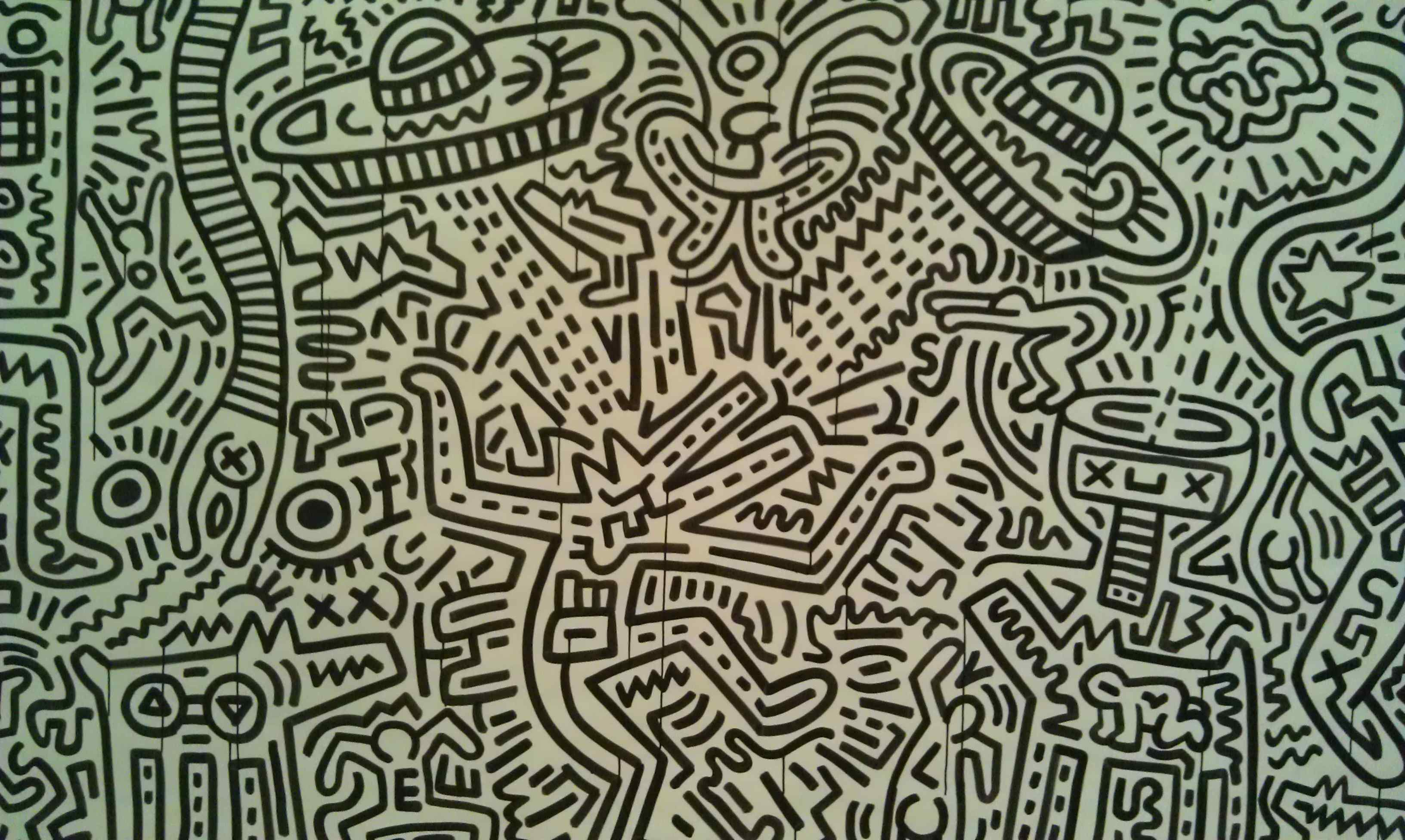 Keith Haring and The Rhythms of Painting | hydramag
